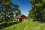 Rotes Haus am Rothaarsteig zwischen Lenneplätze und Langewiese