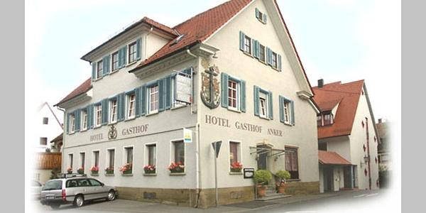 Außenansicht des Hotel Gasthof Anker in Rottenburg