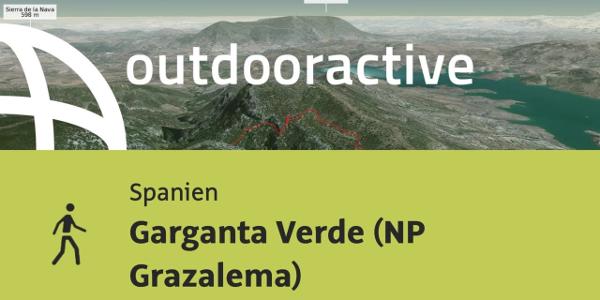 Wanderung in Spanien: Garganta Verde (NP Grazalema)