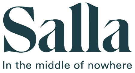 Logo Salla - in the middle of nowhere