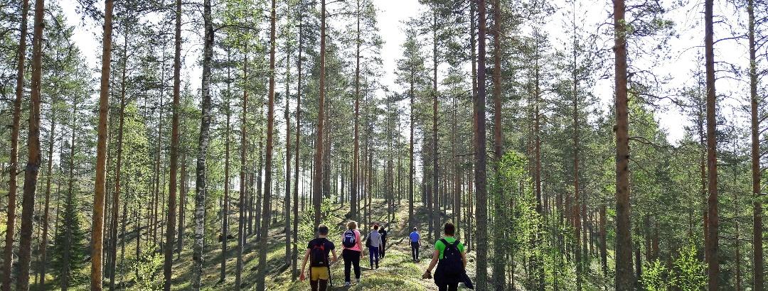 Retkeilyä Pohjois-Savossa