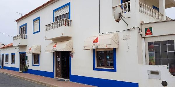 Outside Cafe Adelia