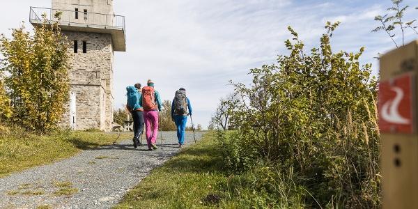 Wandern am Alpannonia Weitwanderweg - Geschriebenstein