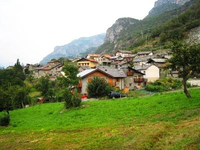 Blick zurück auf Châtillon