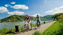 Rheinradweg / Véloroute Rhein