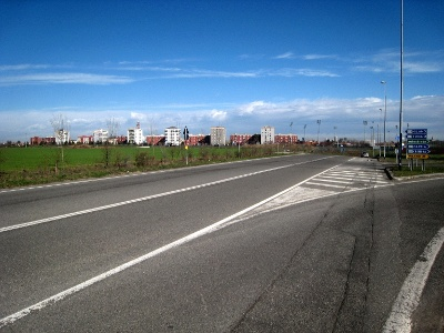 Blick zurück nach Piacenza