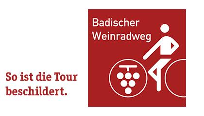 Badischer Weinradweg - Routenlogo