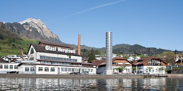 In Hergiswil befindet sich auch die berühmte Glasi.