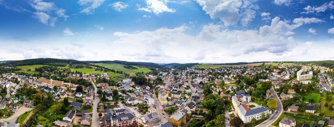 Blick auf Thalheim