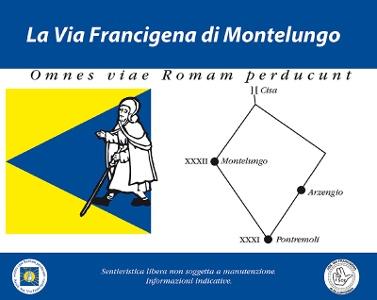 neue Wegsignalisierung bei Montelungo