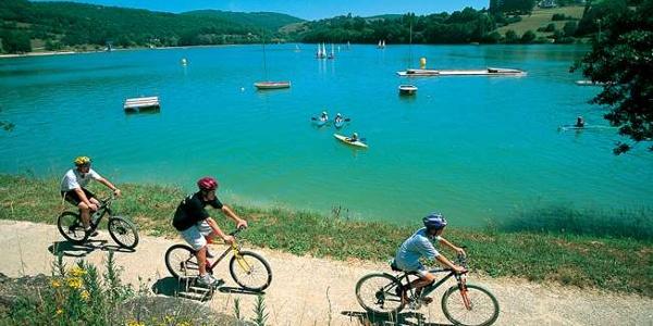 Circuit n°1 : Le Tour du lac du Causse