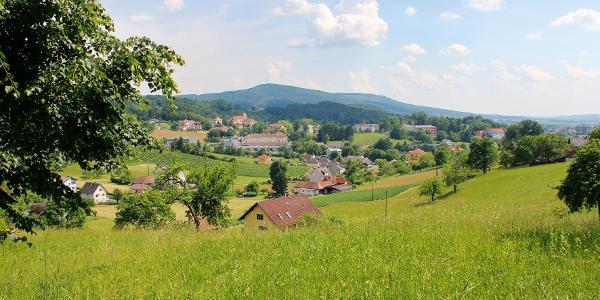 Blick auf Bad Gleichenberg