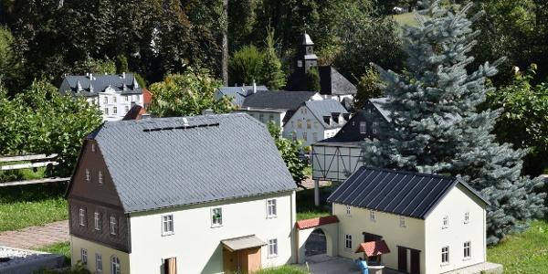 Výstava miniatur Mini Weißbach v Amtsbergu