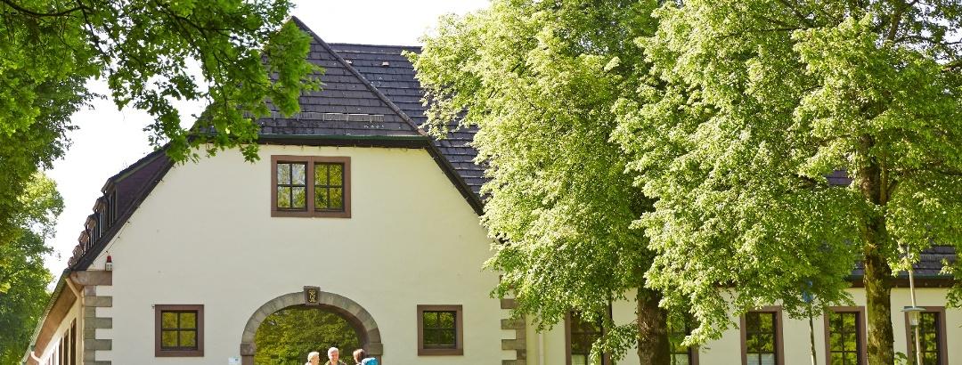 Das Touristikzentrum der Solling-Vogler-Region im Weserbergland im Haus des Gastes in Neuhaus