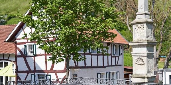 Außenansicht Ahrtal Ferienhaus Landskrone