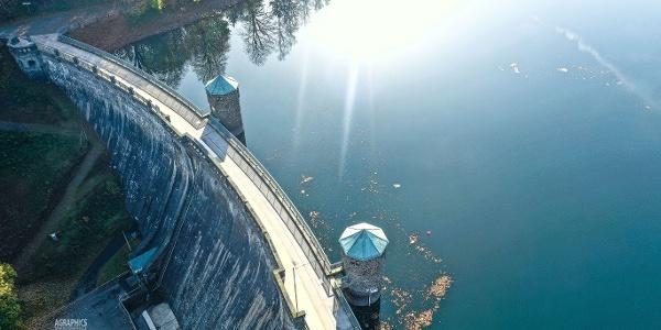 Atemberaubender Anblick aus der Luft