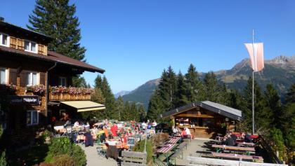 Bühl Alpe in Mittelberg