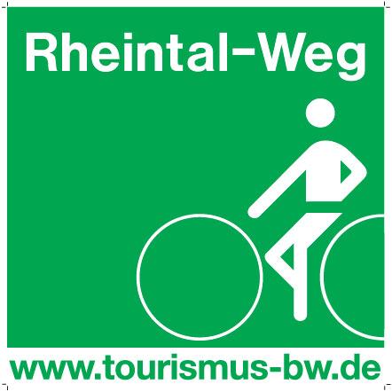 Beschilderung Rheintal-Weg