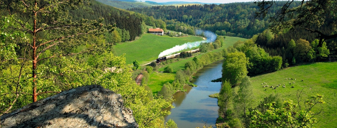 Das Elstertal unter Dampf - Bahnerlebnisse im Vogtland