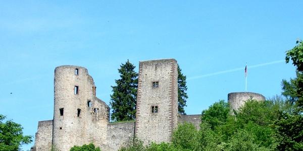 Burgruine Schönecken, Fotoarchiv TI Prüm