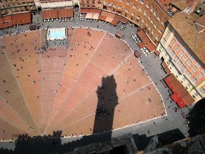 Siena: muschelförmige Piazza del Campo
