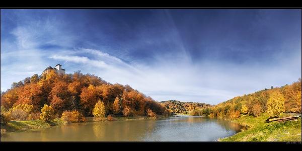 Léka vára és a tó