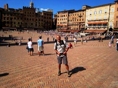 Siena: Start auf der Piazza del Campo