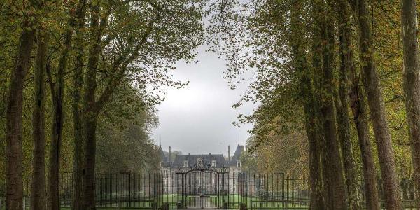 Entrée du château de Courances
