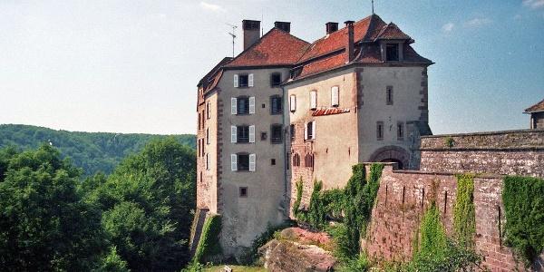 La Petite-Pierre, Château