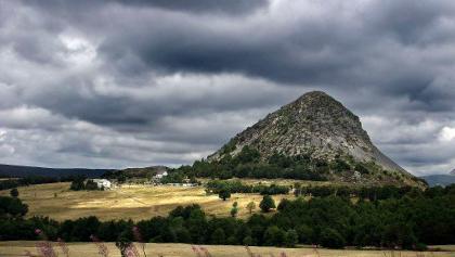 Le Mont Gerbier de Jonc au km 82