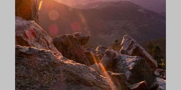 Lever du soleil au Mont Felletin