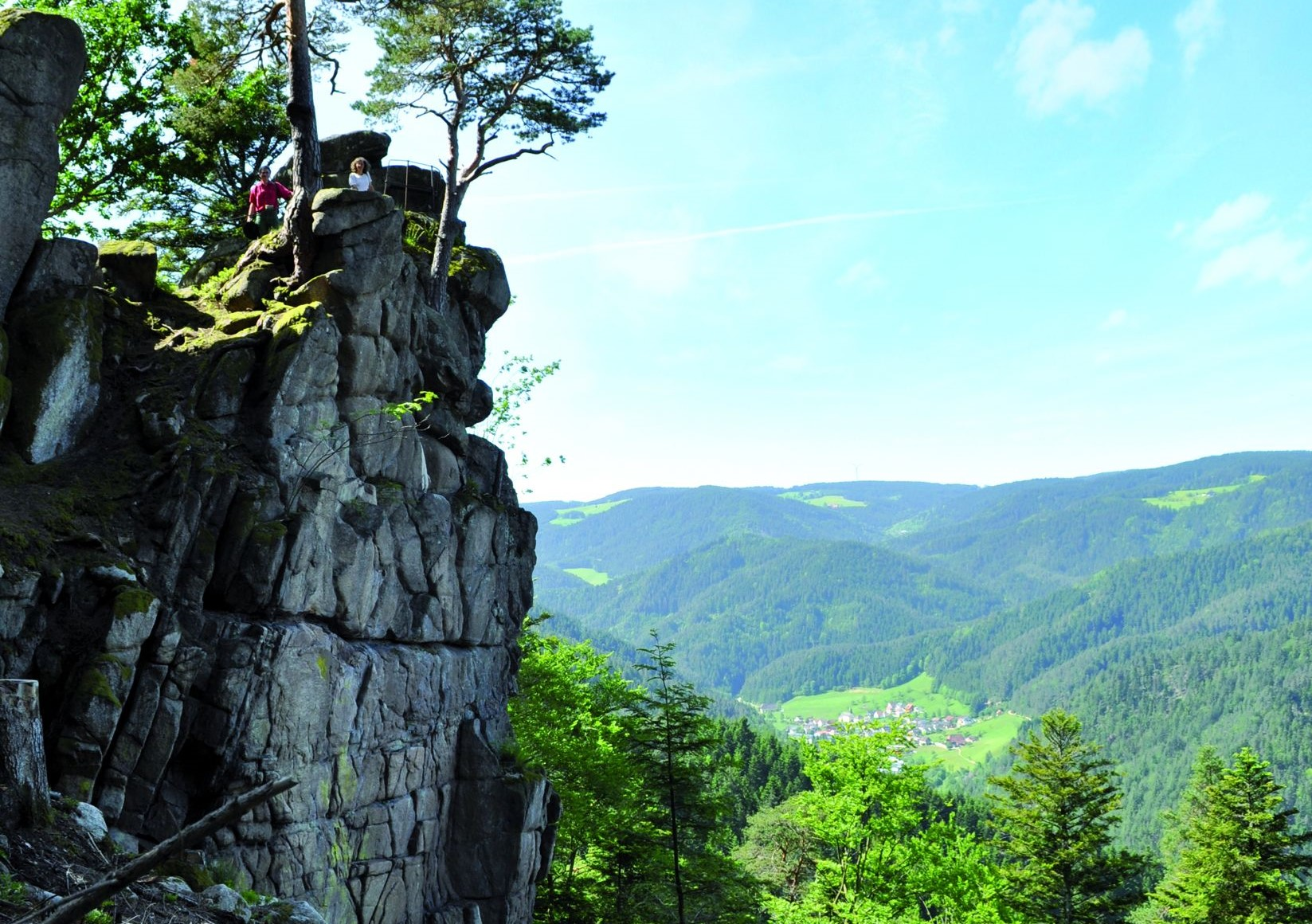 Windeckfelsen in Hornberg