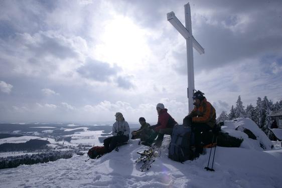 Winterwandern am Clemensberg