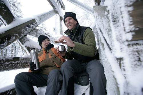 Winterwanderweg von Winterberg nach Züschen