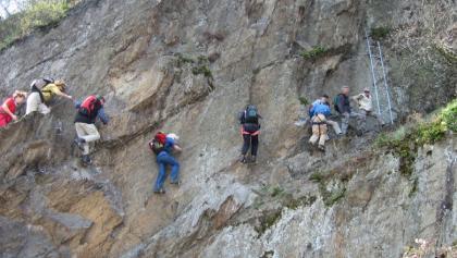 Klettersteig Urlaub : Klettersteig grundkurs im kleinwalsertal jetzt buchen