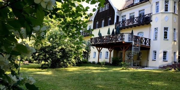 Villa Wilisch Außenansicht