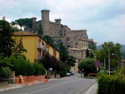 mittelalterliche Burgsiedlung Bolsena