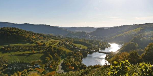 Ockfen-Blick nach Saarburg