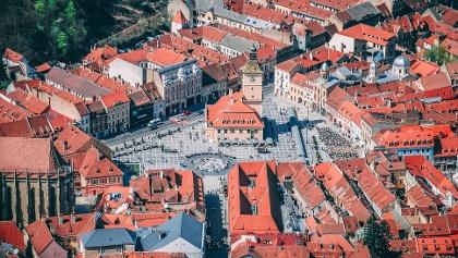 Brașov - vedere de pe Tâmpa