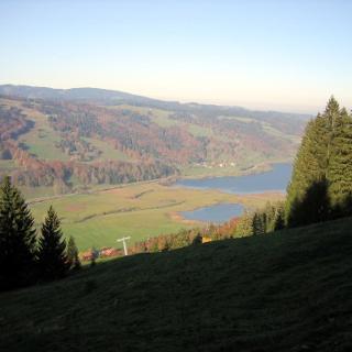 Im Abstieg Blick zum Alpsee