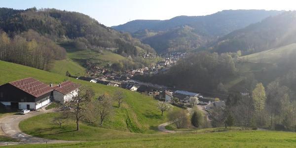 Blick über Bad Griesbach