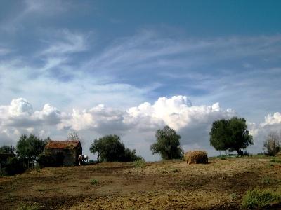 archaische Landschaft bei Formello
