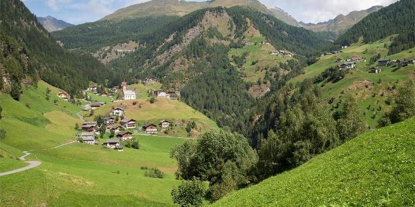 Romedius-Pilgerweg im Passeiertal