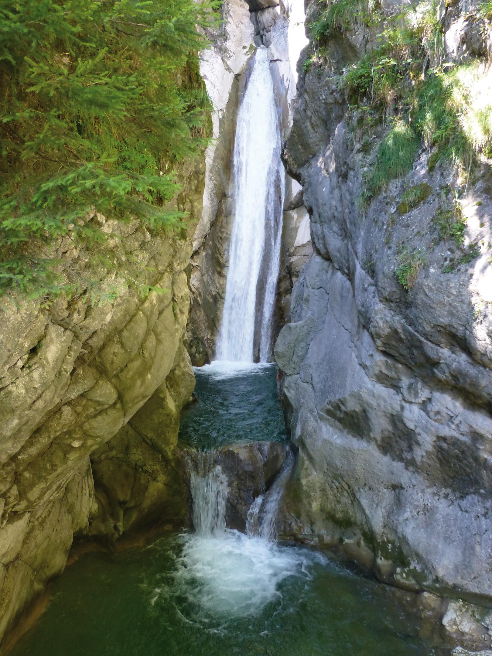 Wasserfall Tatzelwurm
