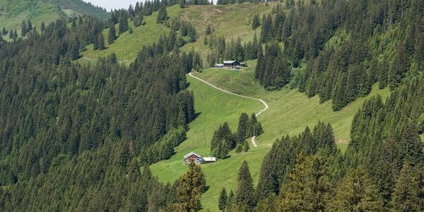 Alpe Hinteregg und Berghaus Schwaben