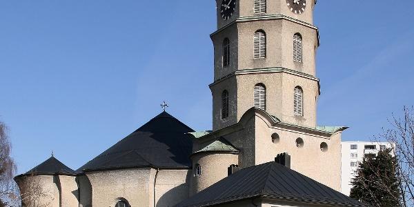 Katholische Stadtpfarrkirche Mariahilf 1