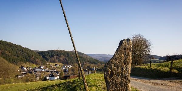 Augenstein Rotmilan Höhenweg