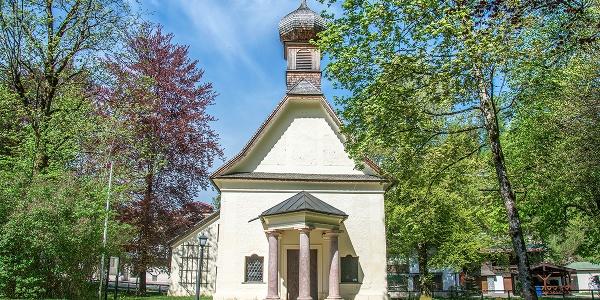 Die Hubertuskapelle in Unterstein, Schönau a. Königssee
