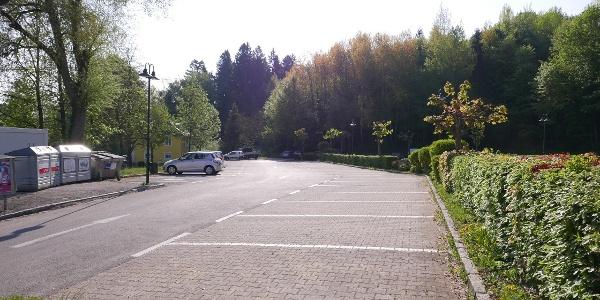 Parkplatz in Velden