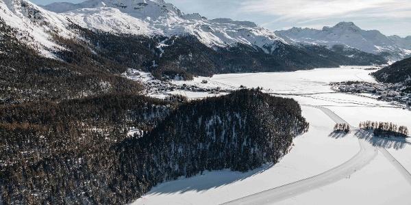 lac de Champfèr et Silvaplana